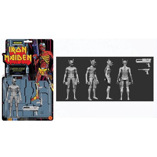 Iron Maiden Cyborg Eddie 5-Inch FizBiz Action Figure