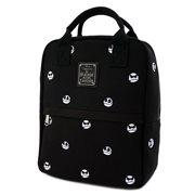 Nightmare Before Christmas Jack Skellington Canvas Embroidered Backpack