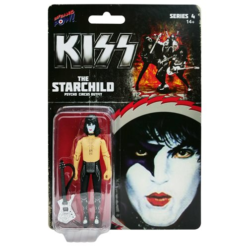 KISS Psycho Circus The Starchild 3 3/4-Inch Action Figure Series 4