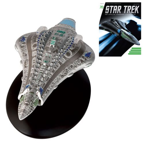 Star Trek Starships Voth City Ship Die-Cast Vehicle with Collector Magazine #70