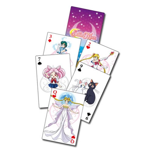 Sailor Moon Group Playing Cards