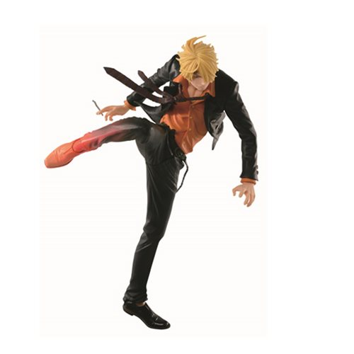 One Piece SCultures Sanji Diable Jambe Color Version Statue