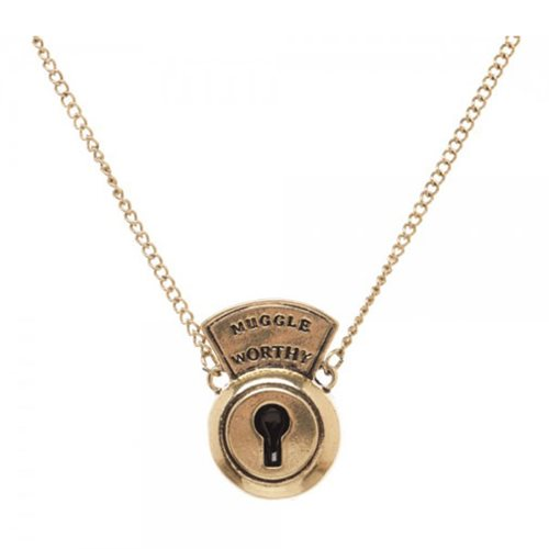 Fantastic Beasts and Where to Find Them Lock Necklace