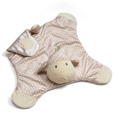 Roly Poly Lamb Comfy Cozy Plush Blanket
