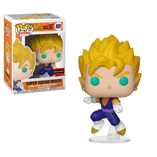Dragon Ball Z Super Saiyan Vegito Pop! Vinyl Figure - Exclusive