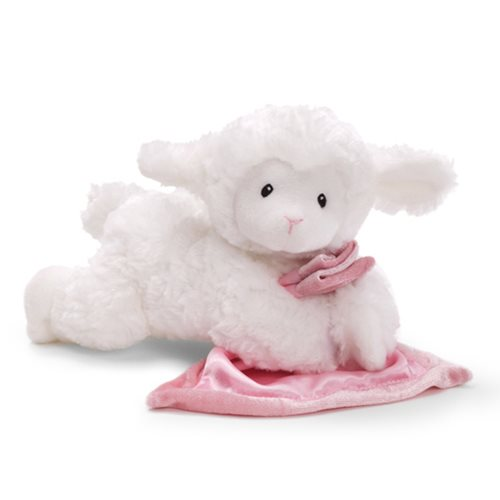 Lena Lamb Pink Sound Toy 9-inch Plush