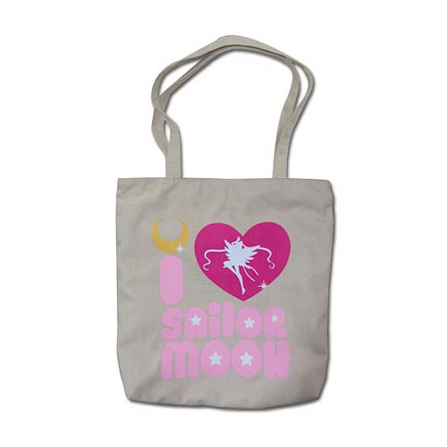 Sailor Moon I Love Sailor Moon Tote Bag