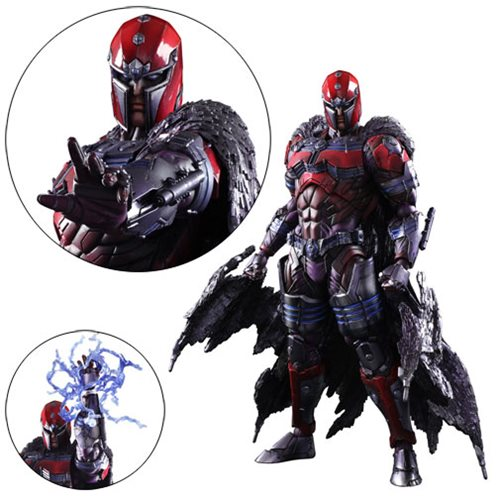 Marvel Universe Magneto Variant Play Arts Kai Action Figure