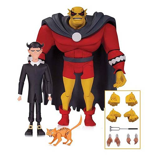 The New Batman Adventures Etrigan and Klarion Action Figures