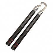 Hero's Edge Black Polypropylene Nunchucks