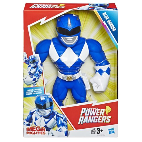 Power Rangers Mega Mighties Blue Ranger Action Figure