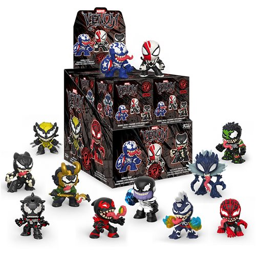 Marvel Venomized Mystery Minis Display Case