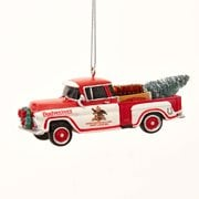 Budweiser Pickup Truck 4 1/2-Inch Resin Ornament