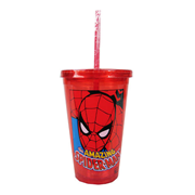 Amazing Spider-Man Red Plastic Travel Cup