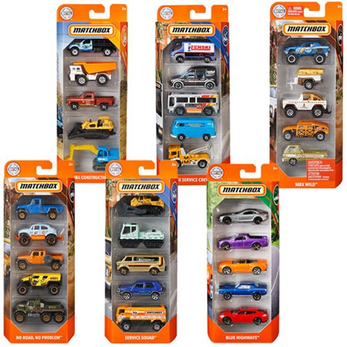 Matchbox Car Collection 5-Pack Mix 6 Case