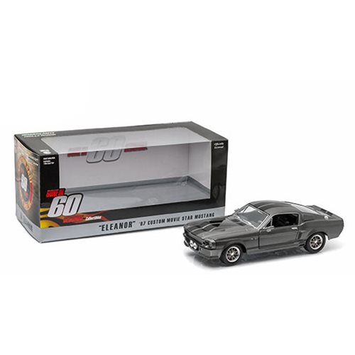 "Gone in Sixty Seconds (2000) - 1967 Ford Mustang ""Eleanor"" 1:24 Scale Die-Cast Metal Vehicle"