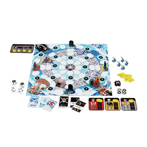One Piece Water 7 Board Game