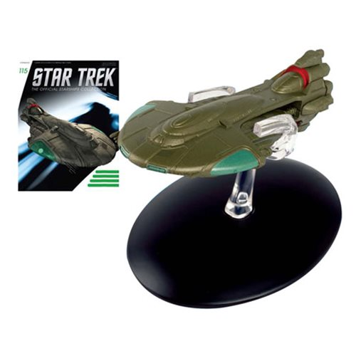 Star Trek Starships Tellarite Vehicle with Magazine #115