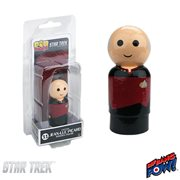 Star Trek: The Next Generation Captain Jean-Luc Picard Pin Mate Wooden Figure