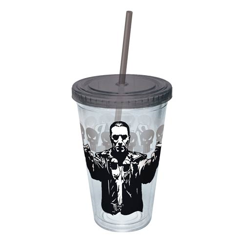 The Punisher Guns Drawn Acrylic Travel Cup