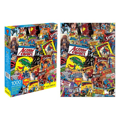 Superman Comic Book Covers 1,000-Piece Puzzle