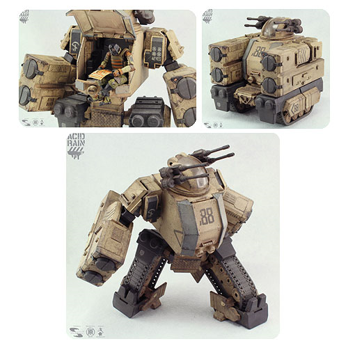 Acid Rain Sand Stronghold Transforming Mecha Action Vehicle