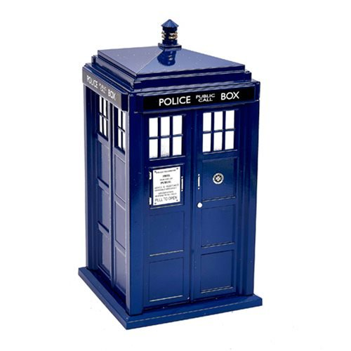 Doctor Who TARDIS 9-Inch Light-Up Tree Topper