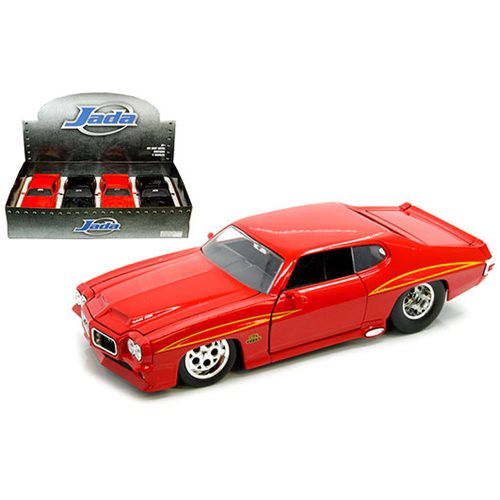Bigtime Muscle Pontiac 1971 GTO 1:24 Scale Die-Cast Vehicle