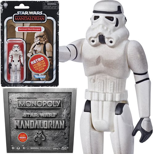 Star Wars Mandalorian Monopoly Edition with Action Figure