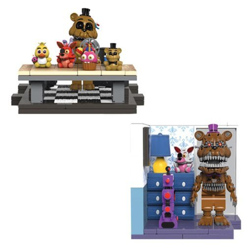 FNAF Series 5 Small Construction Set 2-Pack