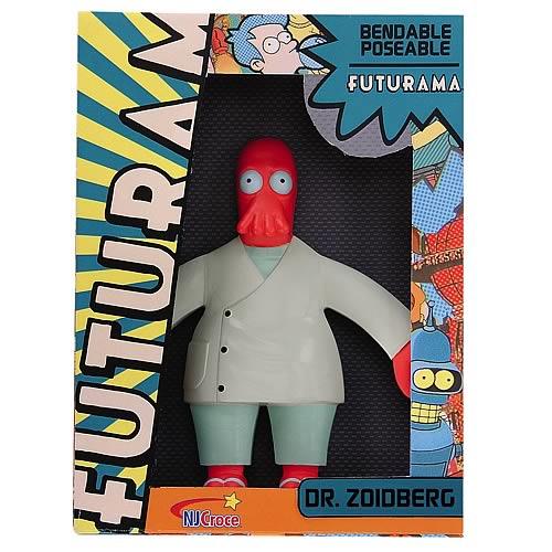 Futurama Dr  Zoidberg Benadable Figure