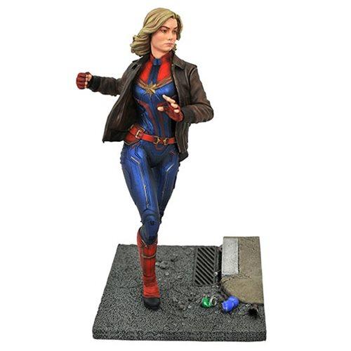 Картинки по запросу Marvel Premiere Collection Statues - Captain Marvel Movie - Captain Marvel