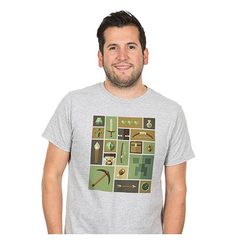Minecraft Explorer Premium T-Shirt