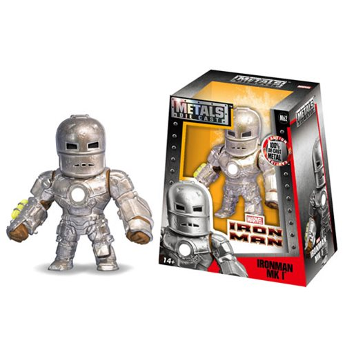 Iron Man MK I 4-Inch Metals Die-Cast Action Figure