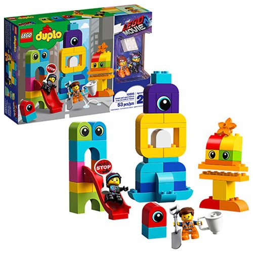 LEGO 10895 DUPLO The LEGO Movie Emmet and Lucy's Visitors from the DUPLO Planet