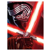 Star Wars: Episode VII - The Force Awakens Dark Warrior Kylo Ren Canvas Giclee Art Print