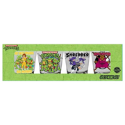 Teenage Mutant Ninja Turtles Frenemies Mini Glass 4-Pack