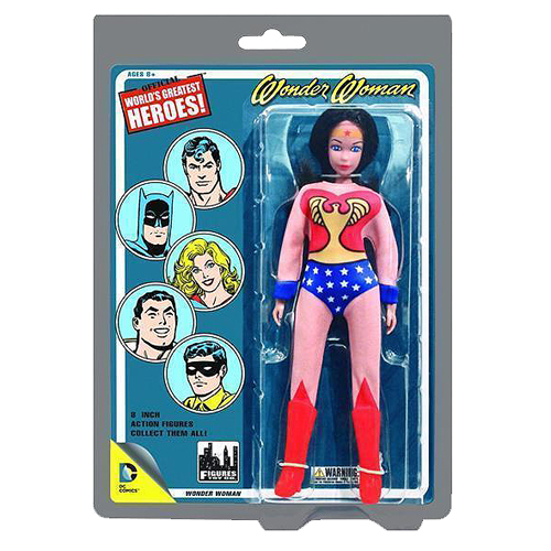 Wonder Woman DC Retro 8-Inch Action Figure (Retro Package)