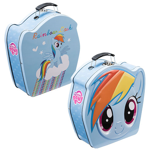My Little Pony Friendship is Magic Rainbow Dash Tin Tote