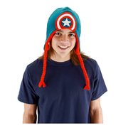Captain America Knit Laplander Hat