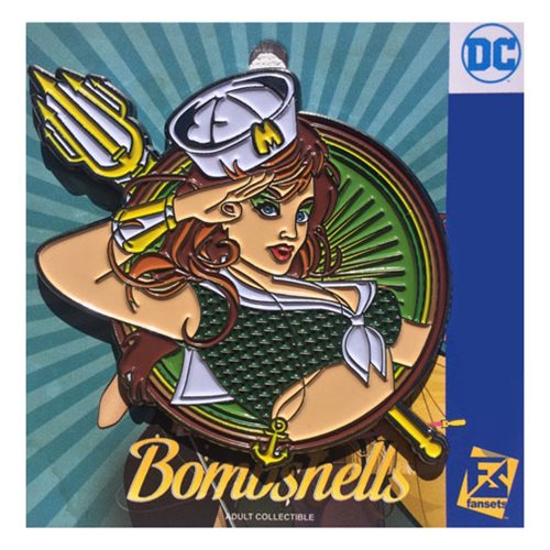DC Bombshells Mera Badge Pin