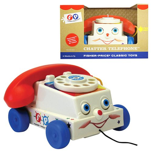 Fisher-Price Classic Chatter Telephone, Not Mint
