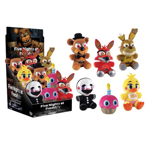 Five Nights at Freddy's 6-Inch Plush Wave 2 Display Case