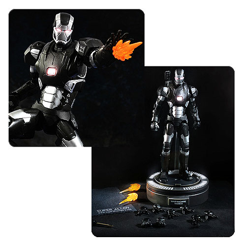 Iron Man 3 Super Alloy War Machine Collectible Figure MK II