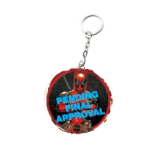 Deadpool Logo Key Chain