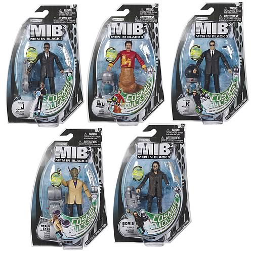 Men In Black 3 Action Figure Small Accessory Wave 1
