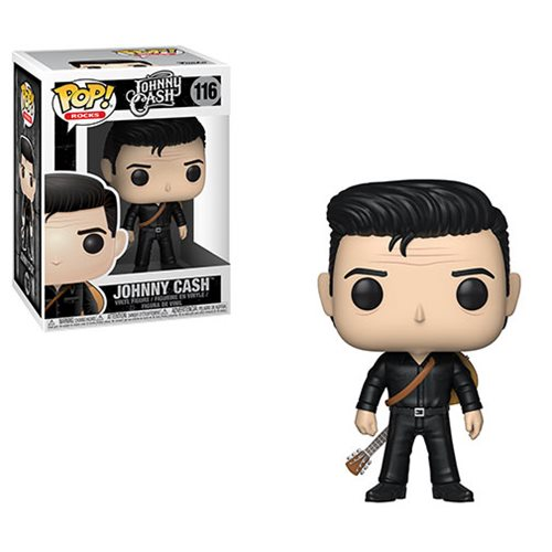Johnny Cash in Black Pop! Vinyl Figure