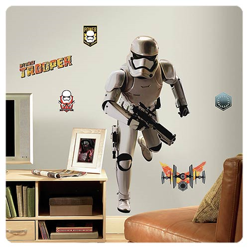 Star Wars: Episode VII - The Force Awakens Stormtrooper Giant Wall Decal