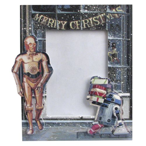 Star Wars R2-D2 and C-3PO Picture Frame Ornament - Entertainment Earth
