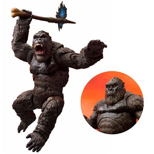 Godzilla Vs. Kong 2021 King Kong S.H.Monsterarts Figure